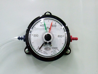Manometer for OIL BOOTH