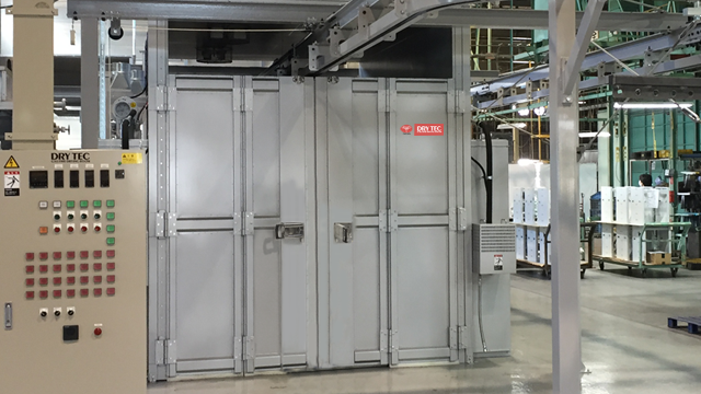 Construction cases of Passing-type drying machine, DRY TEC Special order