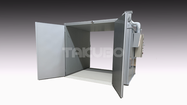 DRY TEC Front and rear door type medium size drying oven GOW-2019S Example of installation